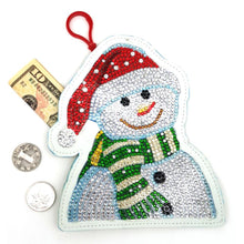 Load image into Gallery viewer, Snowmanet Coin Purse