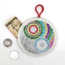 Load image into Gallery viewer, Special Shapedet Mandala Coin Purse Keychain