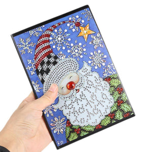 Santa Claus 60 Pages A5 Office Notebook