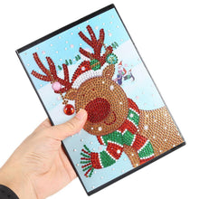 Load image into Gallery viewer, Christmas Elk 60 Pages A5 Diary Book