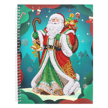 Load image into Gallery viewer, Santa Claus 50 Pages A4 Office Notebook