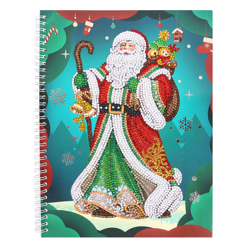 Santa Claus 50 Pages A4 Office Notebook