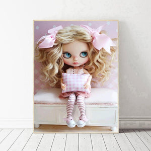 Doll  - Full Round Diamond - 30x40cm