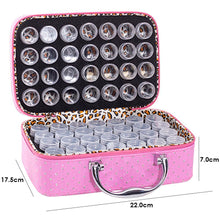 Load image into Gallery viewer, 56 Bottles Diamond Painting Container Storage Bag Zip Carry Case Box Tools