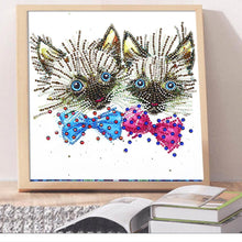 Load image into Gallery viewer, Cats - Special Shaped Diamond - 30x40cm