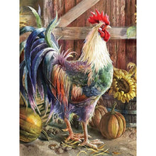 Load image into Gallery viewer, Rooster  - Full Round Diamond - 30x40cm