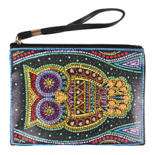 Load image into Gallery viewer, Owl Women Wristlet Bags Zipperet
