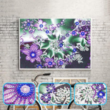 Load image into Gallery viewer, Flower - Special Shaped Diamond - 30x40cm