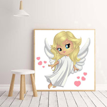 Load image into Gallery viewer, Angel  - Full Round Diamond - 30x30cm