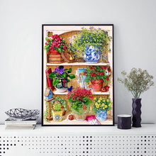 Load image into Gallery viewer, Potted Plant  - Full Round Diamond - 30x40cm