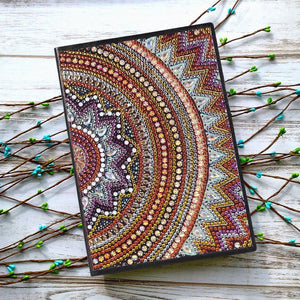 Mandala 50 Pages Sketchbook A5 Notebook