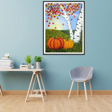 Load image into Gallery viewer, Pumpkin  - Full Round Diamond - 30x40cm
