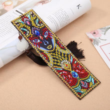 Load image into Gallery viewer, Leather Tassel Bookmark Creative