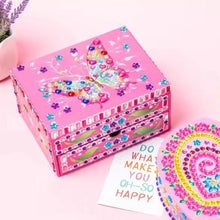 Load image into Gallery viewer, Butterfly Pattern Jewelry Storage Box