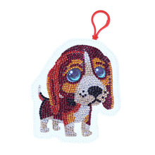 Load image into Gallery viewer, DIY Special Shaped Diamond Painting Dog Wallet Coin Purse