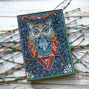 Owl 50 Page A5 Sketchbook Book