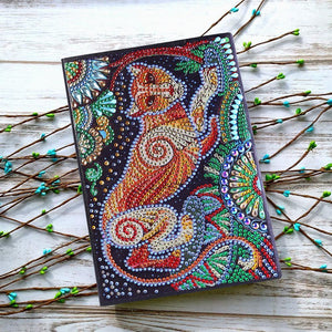 Leopard 50 Pages A5 Sketchbook Notebook