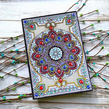 Load image into Gallery viewer, Mandala 50 Pages A5 Sketchbook Notebook