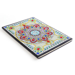 Mandala 50 Pages A5 Sketchbook Notebook