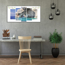 Load image into Gallery viewer, 5pcs Seaside - Full Round Diamond - 95x45cm