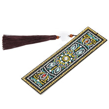 Load image into Gallery viewer, Leather Tassel Bookmark