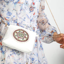 Load image into Gallery viewer, Leather Crossbody Bags Chain Clutch