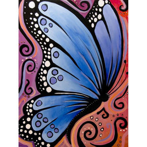 Butterfly  - Full Round Diamond - 30x40cm
