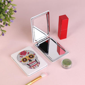 Skull Mini Makeup Mirror Vanity Mirrors