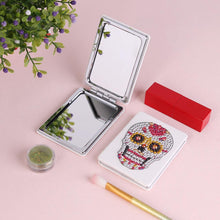 Load image into Gallery viewer, Skull Mini Makeup Mirror Vanity Mirrors