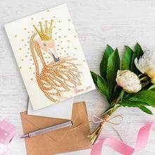 Load image into Gallery viewer, Crown Deer Greeting Card Wedding Party
