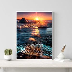 Sunrise  - Full Round Diamond - 30x40cm