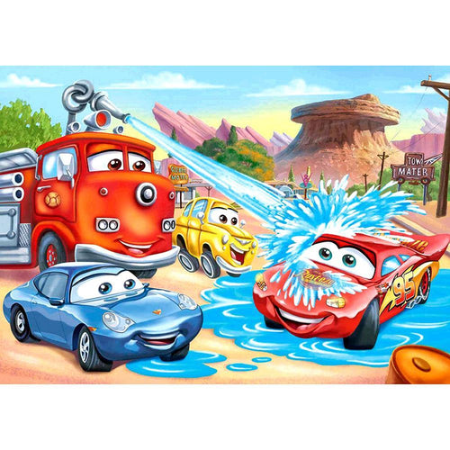 Cars 5D DIY Full Drill Diamond Painting