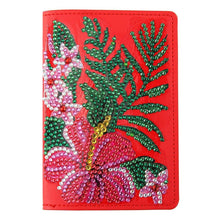 Load image into Gallery viewer, Flower Special Shape Leather Passport Protective Cover