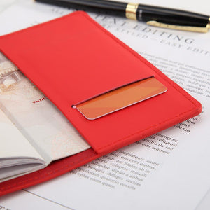 Leather Passport Protection Cover