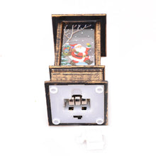 Load image into Gallery viewer, Xmas LED Lantern Light Flames Candle Lamp Glowing Home Party Decor (Santa)