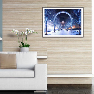 Scenery 5D DIY Full Drill Square Diamond Painting