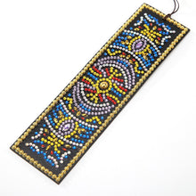 Load image into Gallery viewer, DIY Special Shaped Diamond Creative Leather Bookmarks with Tassel
