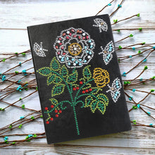 Load image into Gallery viewer, DIY Tree Special Shaped Diamond 50 Pages A5 Notebook(Without Lines)
