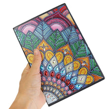 Load image into Gallery viewer, DIY Colorful Special Shaped Diamond 50 Page A5 Notebook(Without Lines)