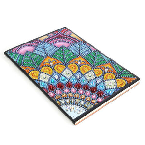DIY Colorful Special Shaped Diamond 50 Page A5 Notebook(Without Lines)