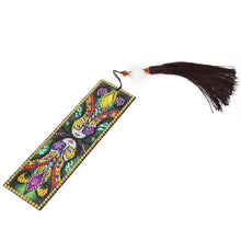 Load image into Gallery viewer, DIY Special Shaped Diamond Creative Leather Tassel Bookmark