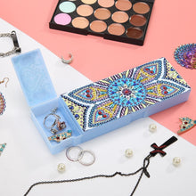Load image into Gallery viewer, DIY Mandala Special Shaped Diamond Students Pencil Storage Box