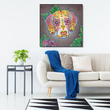 Load image into Gallery viewer, Dog 5D DIY Special Shaped Diamond Painting