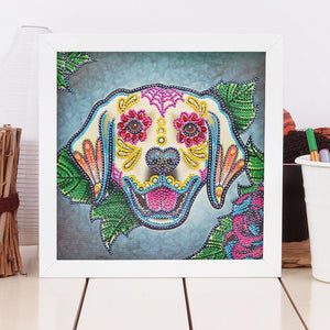 Dog 5D DIY Special Shaped Diamond Painting