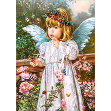 Load image into Gallery viewer, Angel 5D DIY Full Drill Diamond Painting