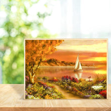 Load image into Gallery viewer, Sunset 5D DIY Full Drill Diamond Painting
