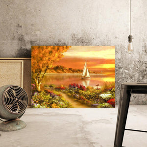 Sunset 5D DIY Full Drill Diamond Painting