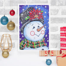Load image into Gallery viewer, Snowman 5D DIY Special Shaped Diamond Painting