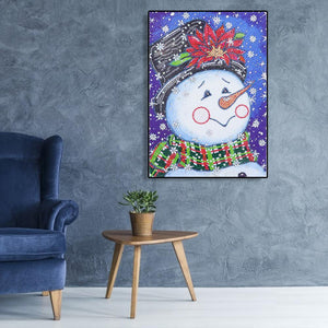 Snowman 5D DIY Special Shaped Diamond Painting