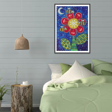Load image into Gallery viewer, Flower 5D DIY Special Shaped Diamond Painting